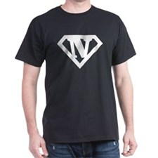 Super White N Logo T-Shirt