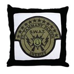 St. Tammany Parish Sheriff SW Throw Pillow