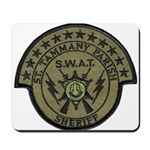 St. Tammany Parish Sheriff SW Mousepad