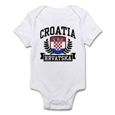 Croatia Hrvatska Infant Bodysuit