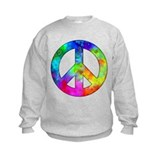 Retro tie-dyed peace sign Jumpers