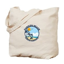 Carolina Beach NC - Beach Design Tote Bag