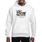 O'Moroney Coat of Arms Hooded Sweatshirt