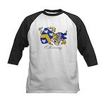 O'Moroney Coat of Arms Kids Baseball Jersey