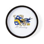 O'Moroney Coat of Arms Wall Clock