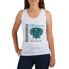 AwarenessMatters TealRibbon Women's Tank Top
