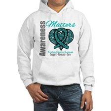 AwarenessMatters TealRibbon Hoodie