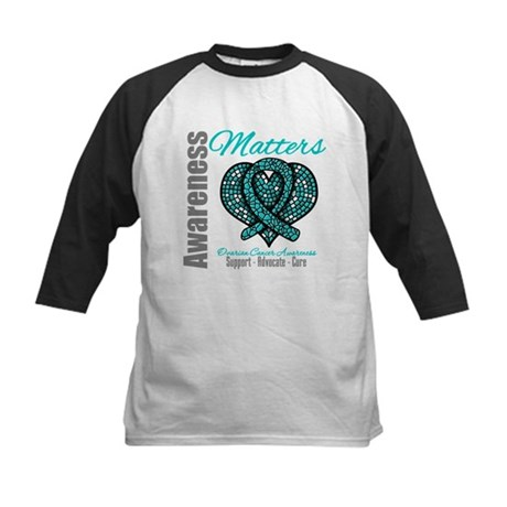 AwarenessMatters TealRibbon Kids Baseball Jersey