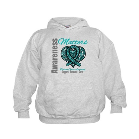 AwarenessMatters TealRibbon Kids Hoodie
