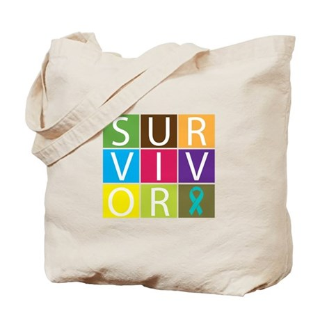 Ovarian_Cancer Survivor Tote Bag