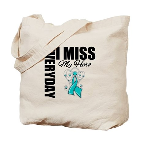 MissMyHero OvarianCancer Tote Bag