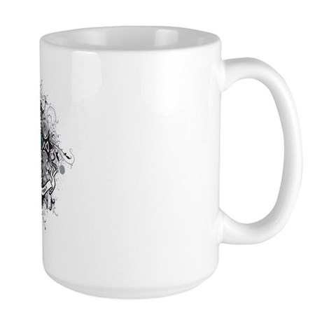 OvarianCancer FaithCross Large Mug