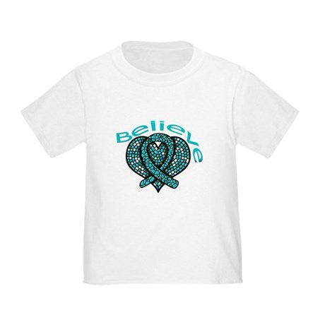 OvarianCancer BELIEVE Toddler T-Shirt