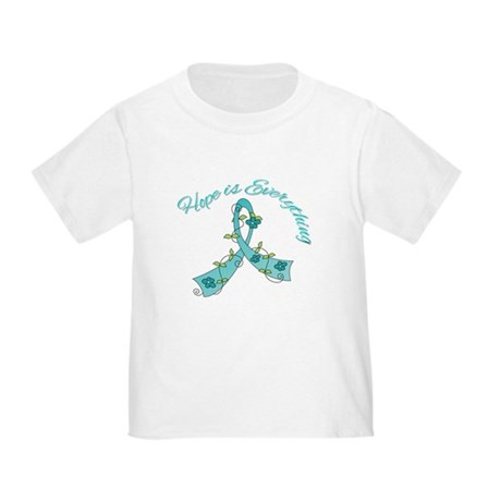 HopeIsEverything TealRibbon Toddler T-Shirt