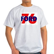 Ford 76 Ash Grey T-Shirt