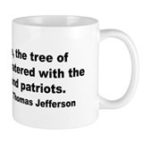 Jefferson Tree of Liberty Quote Mug