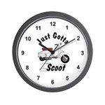 Just Gotta Scoot Lambretta Wall Clock