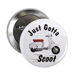 Just Gotta Scoot Lambretta Button