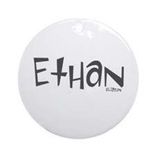 Ethan Ornament (Round)
