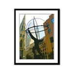 New World Framed Panel Print