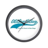 UUs of the South Bay T-Shirt Wall Clock