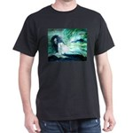 Atlantian Beauty Black T-Shirt