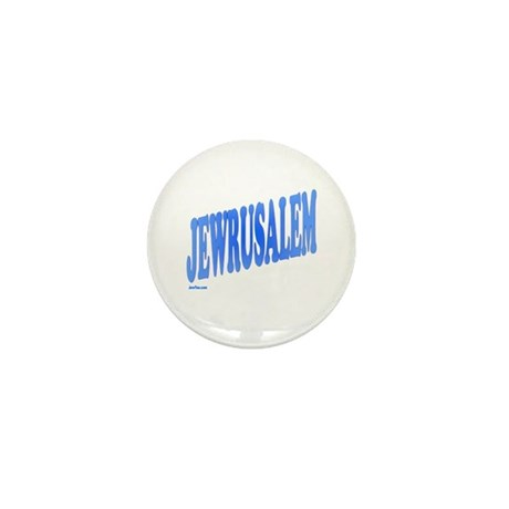 Jewrusalem Israel Mini Button