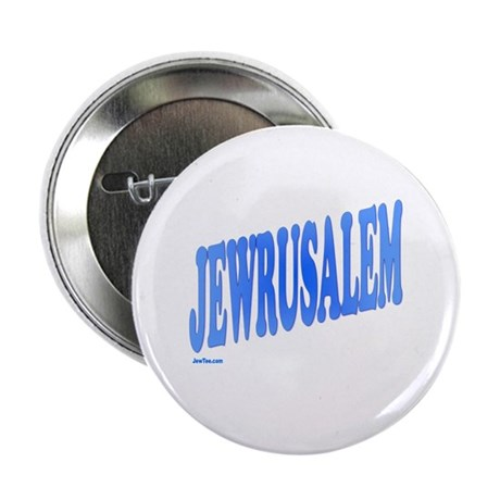 "Jewrusalem Israel 2.25"" Button (10 pack)"