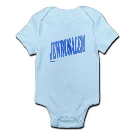 Jewrusalem Israel Infant Bodysuit