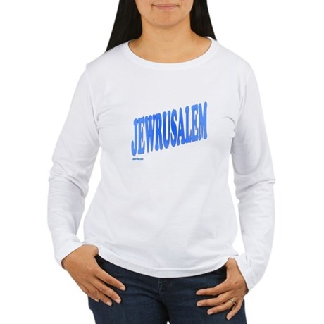 Jewrusalem Israel Women's Long Sleeve T-Shirt