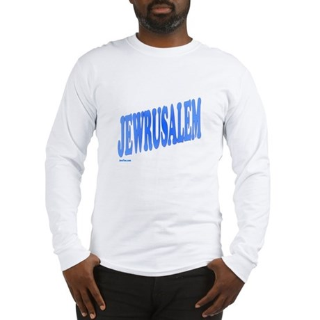 Jewrusalem Israel Long Sleeve T-Shirt