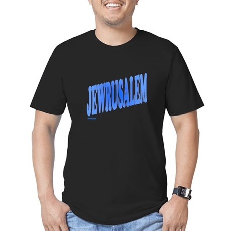 Jewrusalem Israel Men's Fitted T-Shirt (dark)