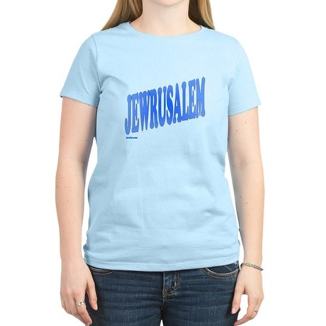 Jewrusalem Israel Women's Light T-Shirt