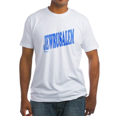 Jewrusalem Israel Fitted T-Shirt