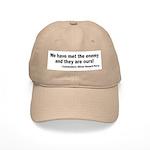 We Have Met the Enemy Quote Cap