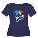 Zombie Dance Party Women's Plus Size Scoop Neck Da