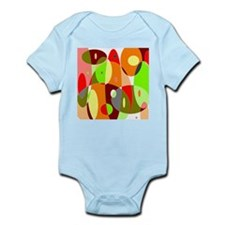Hot Psychedelic Infant Bodysuit
