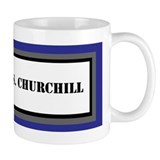 USS Winston S. Churchill Mug