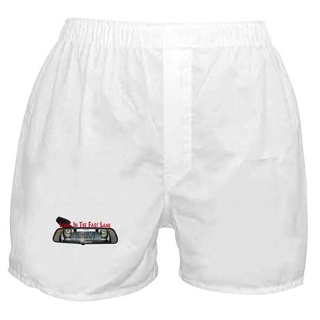 Rearview Mini Boxer Shorts