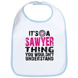 Sawyer Thing Bib