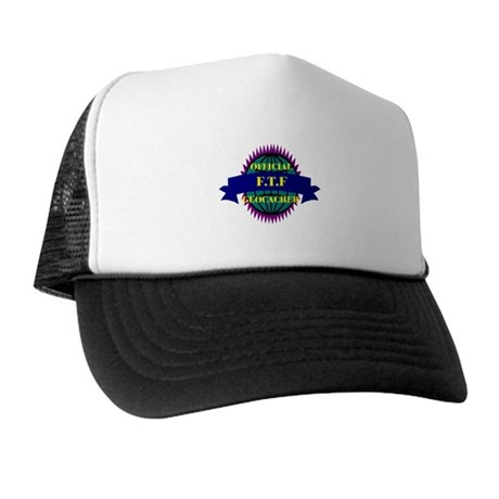 FTF Purple/ White Trucker Hat