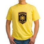 Fulton County Marshal Yellow T-Shirt