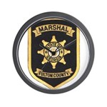 Fulton County Marshal Wall Clock