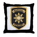 Fulton County Marshal Throw Pillow