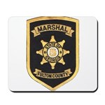Fulton County Marshal Mousepad