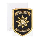 Fulton County Marshal Greeting Cards (Pk of 20)