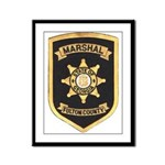 Fulton County Marshal Framed Panel Print