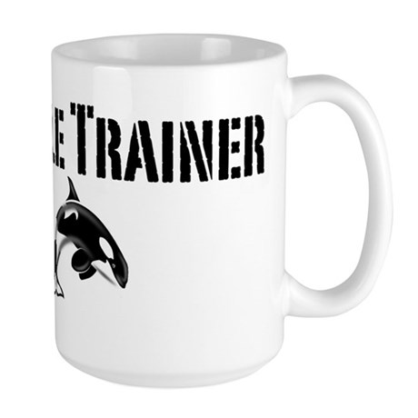 Whale Trainer Light Large Mug