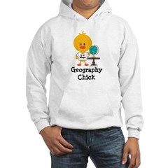 Geography Chick Hooded Sweatshirt