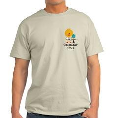 Geography Chick Light T-Shirt